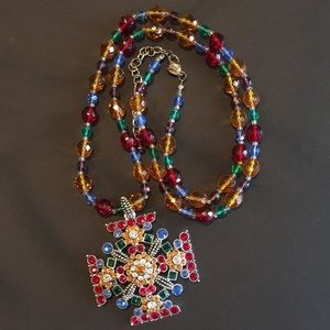 Gorgeous Multi Colored 4 Ways to wear Necklace